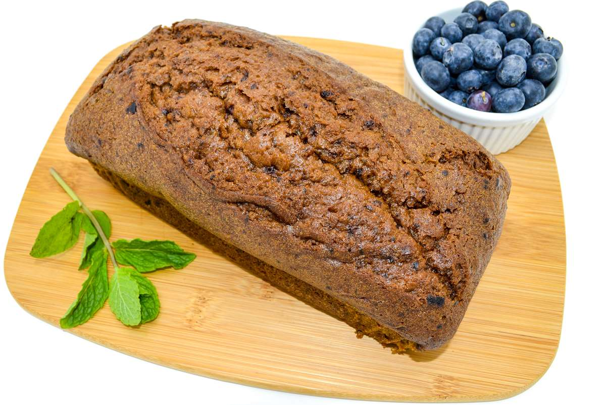 Magic Flavors Blueberry Mint Pound Cake