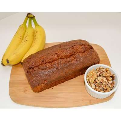 Magic Flavors Banana Walnut Pound Cake