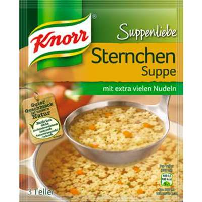 Knorr SL Stars Noddles Soup ( Sternchen Suppe ) -2 pc
