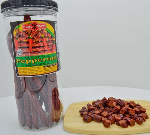 Magic Flavors Pepperoni Sausage Sticks - 16oz