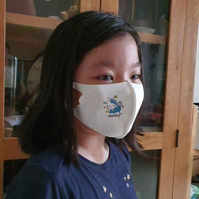 Kids Size Cloth Face Mask Washable & Reusable (1 Mask) FREE SHIPPING