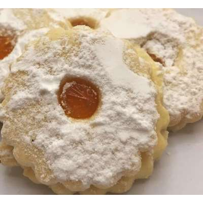 Magic Flavors Apricot Linzer Cookie 12oz