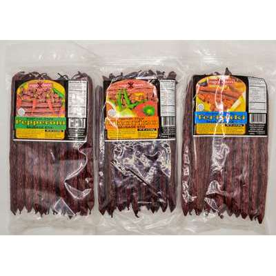 Magic Flavors Sausage Sticks Variety Pack 3x16 oz  (Refill Bags)