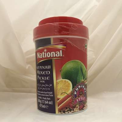 National Hot Punjabi Mixed Pickle in Oil