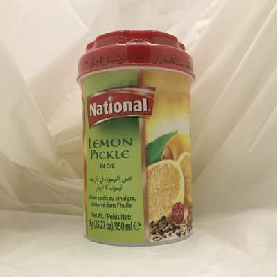 National Lemon Pickle in Oil