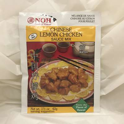 Noh Chinese Lemon Chicken Sauce Mix