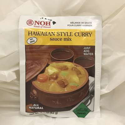 Noh Hawaiian Style Curry Sauce Mix
