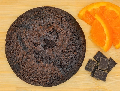 Orange Brownie Muffin Top- Pound Cake Cookie (12 pack)