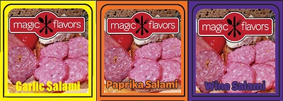 Variety Salami Pack 5oz x 3pk by Magic Flavors