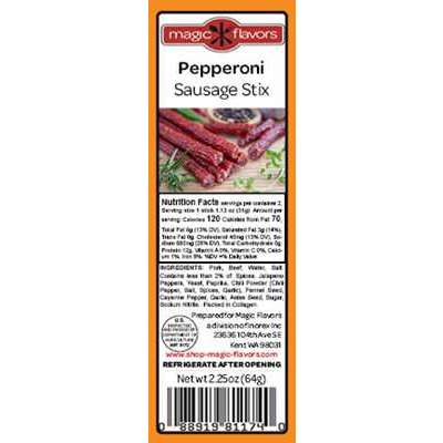 Magic Flavors Sausage Stix Pepperoni (10-pack)