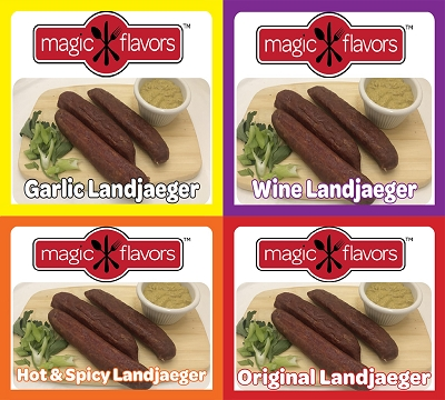 Magic Flavors International Landjaeger Variety Pack (4-3pk)