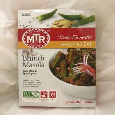 MTR Ready to Eat Bhindi Masala Fried Okra in Spiced Gravy
