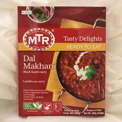 MTR Ready to Eat Dal Makhani Black Lentil Curry