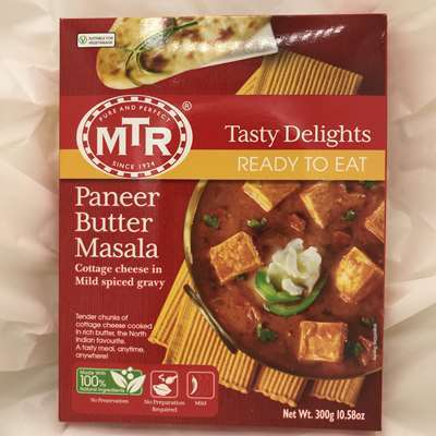 MTR Ready to Eat Paneer Butter Masala Cheese in Spiced Gravy