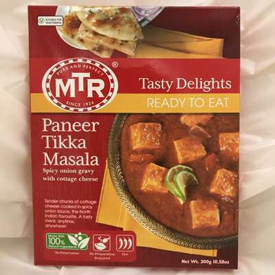MTR Ready to Eat Paneer Tikka Masala Spicy Onion Gravy with Cheese
