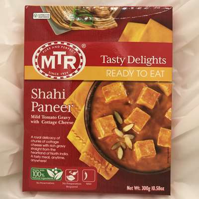 MTR Ready to Eat Shahi Paneer Tomato Gravy with Cheese