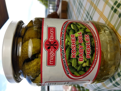 Magic Flavors Kosher Baby Dill Pickles - 24.3 Oz (720 g)