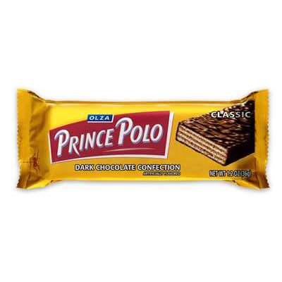 OLZA Prince Polo Classic Dark Chocolate Wafers (10-pack)
