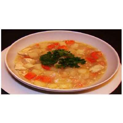 Eurasian Peppered Chicken Stew Recipe - PDF Instant Download