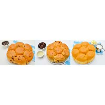 Magic Flavors Sweet Roll Variety Pack: French Chocolate, Vietnamese, Pan de Leche