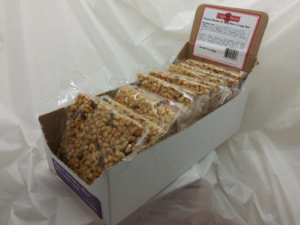 Magic Flavors Peanut Butter & Jelly Rice Crispy Bar 1pk