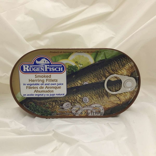 Rügen Fisch Smoked Herring Fillets