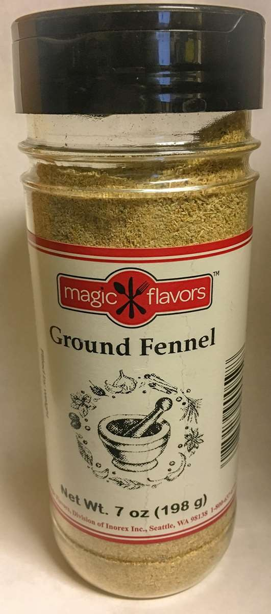Magic Flavors Ground Fennel 7oz