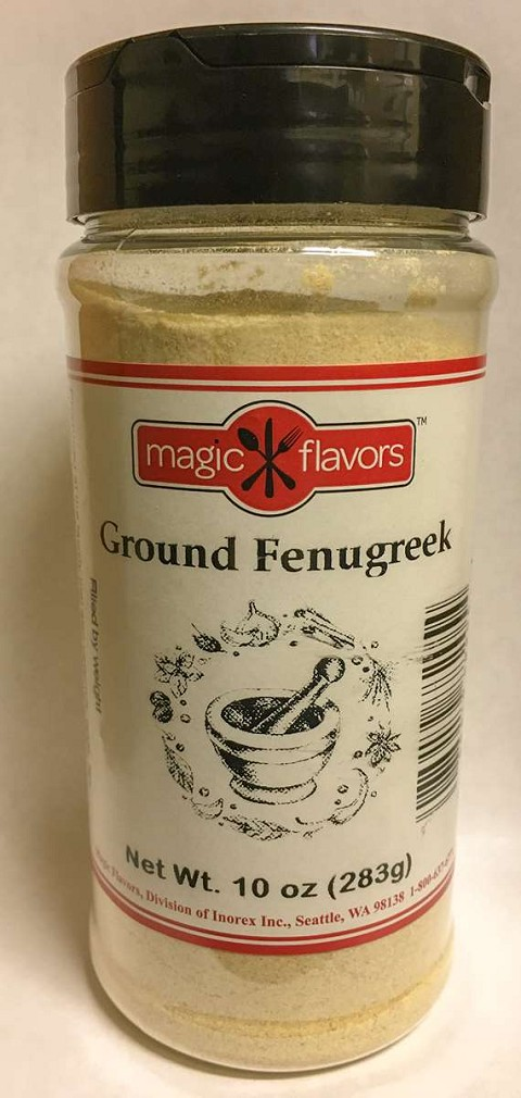 Magic Flavors Ground Fenugreek 10oz