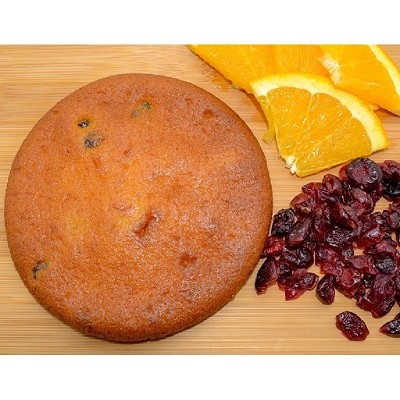 Cranberry Orange Muffin Top - Pound Cake Cookie