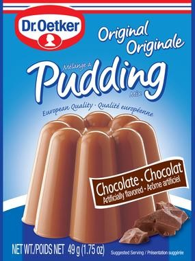 Dr. Oetker Chocolate Pudding 3 pack