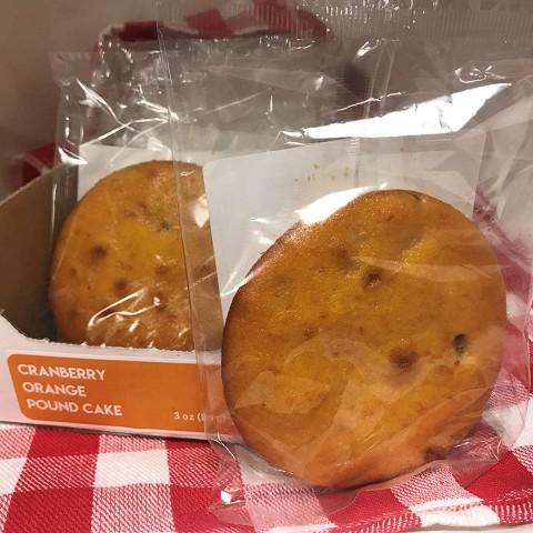 Magic Flavors Cranberry Orange Pound Cake Cookie (12 pack)