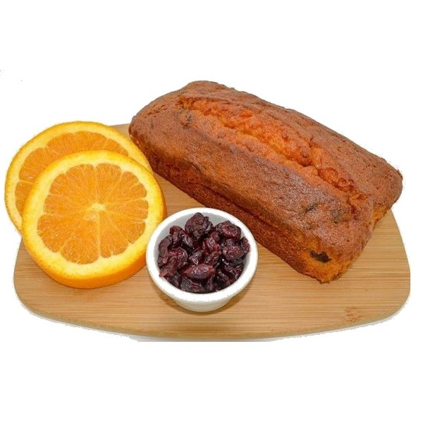 Orange Cranberry Pound Cake by Magic Flavors