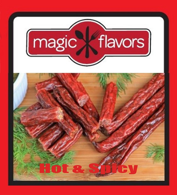 Mexican Hot & Spicy Pepperoni Sausage Stix 2pk by Magic Flavors