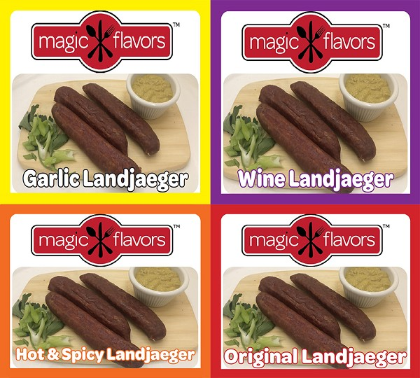 Variety Pack Landjaeger 4x3pk by Magic Flavors