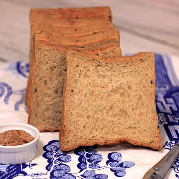Shokupan Multigrain Thick-Sliced Hotel Bread by Magic Flavors