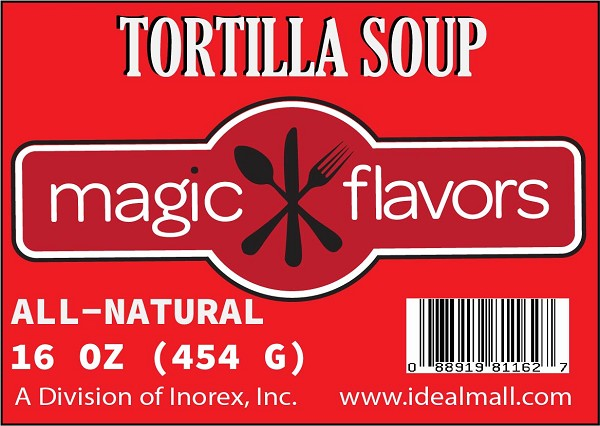 Magic Flavors Tortilla Soup Mix 14.5oz