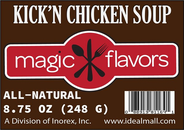 Magic Flavors Kick'n Chicken Soup Mix 8.75oz