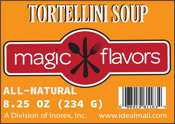 Magic Flavors Tortellini Soup Mix 8.25oz
